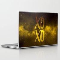 xoxo Laptop & iPad Skins featuring XOXO by cat&wolf