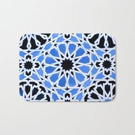 Moroccan Zellige pattern Bath Mat