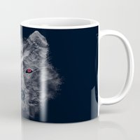 ghost Mugs featuring Ghost by Tobe Fonseca