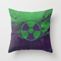 hulk Throw Pillows featuring Hulk by Some_Designs
