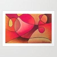 Hearth and Home Art Print