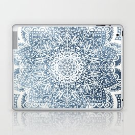 BLUEISH SEA FLOWER MANDALA Laptop & iPad Skin