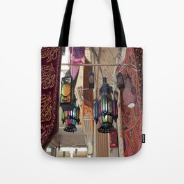 Arabian Lanterns  Tote Bag
