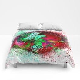 flower-orb#1 Comforters