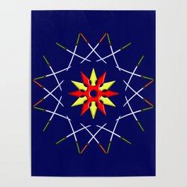 Katana Sword Design version 3 Poster