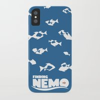 nemo iPhone & iPod Cases featuring Finding Nemo by Citron Vert