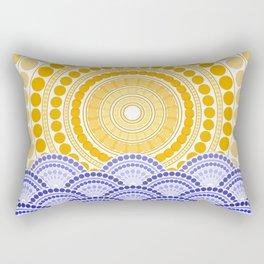 LIGHT OF DAWN (abstract tropical) Rectangular Pillow