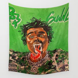 gunna,ds3,drip season 3,rapper,album,poster,wall art,fan art,music,hiphop,rap,rapper Wall Tapestry