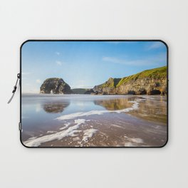 Nun's Beach Reflections Laptop Sleeve