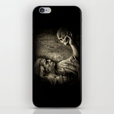 The Doctors Grave iPhone & iPod Skin