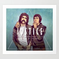 justice Art Prints featuring Justice by Matt Chinn