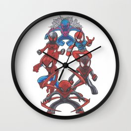 In a Tangled Web Wall Clock