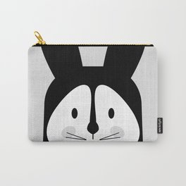 Rabbit BW Carry-All Pouch