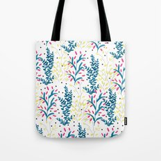 bright flowers. Illustration, pattern, flowers, floral, print,  Tote Bag