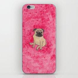 A pug iPhone Skin