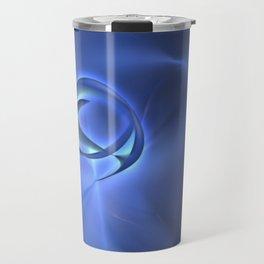 Blue Art Travel Mug