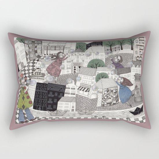 Catch Them if you Can Rectangular Pillow