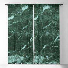 Dark Green Marble texture Blackout Curtain
