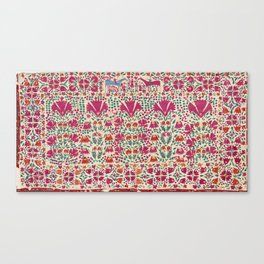 Tekke Asmalyk Embroidered Trapping Print Canvas Print