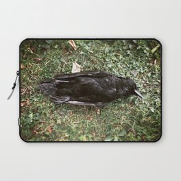Goodnight Crow Laptop Sleeve
