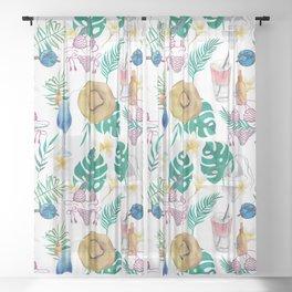 Summer #1 Sheer Curtain