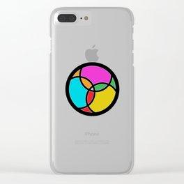 Tri Fish - Christian Trinity Clear iPhone Case