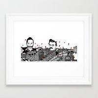 germany Framed Art Prints featuring Germany by Matt Ferguson