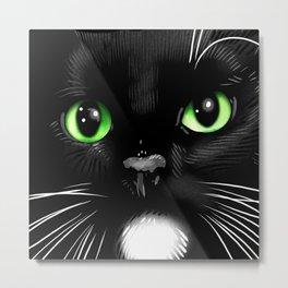 Porkchop the Cat  Metal Print