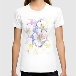 Cherry Blossoms Flowers Spring Floral T-shirt