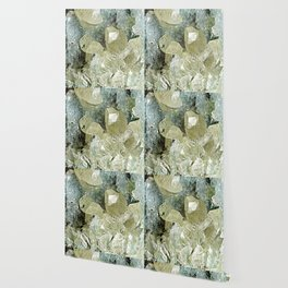 chrysocolla & calcite Wallpaper