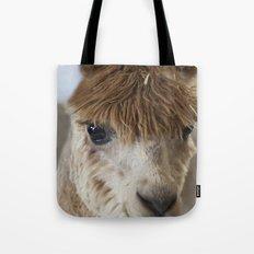 Little Brown Alpaca Tote Bag