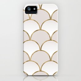 Golden Chinese Pattern iPhone Case
