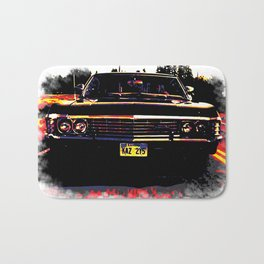 Impala multicolored (Supernatural) Bath Mat