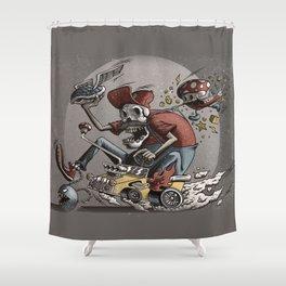 Death Kart Shower Curtain