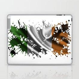 Irish Splatter Laptop & iPad Skin