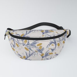 FRENCH LINEN THISTLE Fanny Pack
