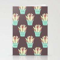 kobe Stationery Cards featuring Kobe Avonia by Jasmine Smith
