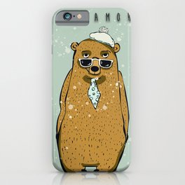 BEAR LOVE STORY10 iPhone Case