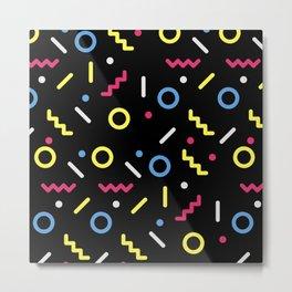 shapes patternn Metal Print