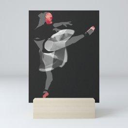 Suspended Movement II Mini Art Print