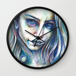 Blueberry Binge Wall Clock
