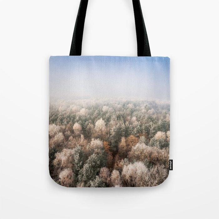 Vanish in the Snow Tote Bag