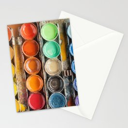 The Painter II (Vintage Edition) Stationery Cards