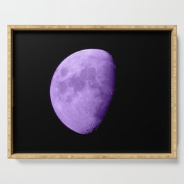 4K Dark Side of the Moon Violet Serving Tray