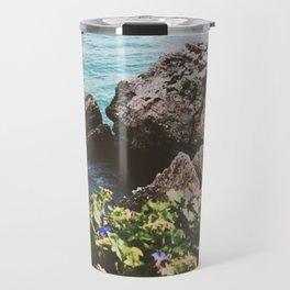 Cliffs Of Nerja Travel Mug