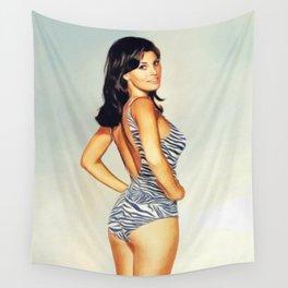 Raquel Welch, Movie Legend Wall Tapestry