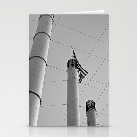 Stacks & Lines Stationery Cards