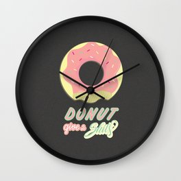Donot give 2 shits Wall Clock