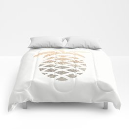 GOLD PINEAPPLE Comforters