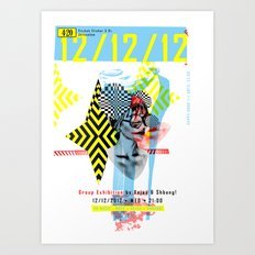 121212 ANALOG zine Art Print